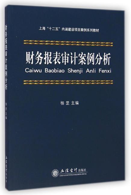 财务报表审计案例分析(杨罡)