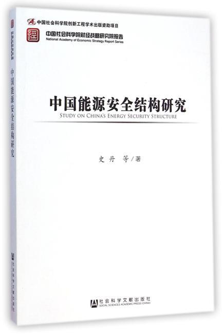 中国能源安全结构研究