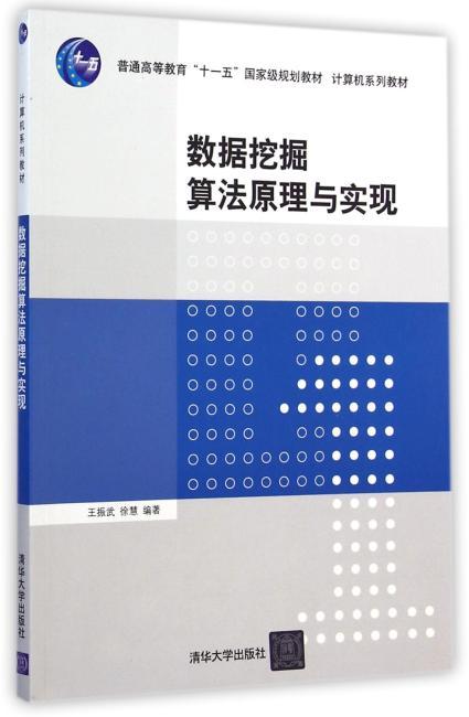 数据挖掘算法原理与实现(计算机系列教材)