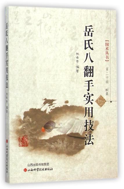 岳氏八翻手实用技法(配盘)