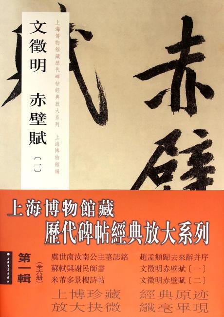 上海博物馆藏历代碑帖经典放大系列(第一辑)(全六册)