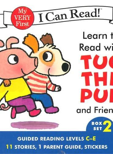 Learn to Read with Tug the Pup and Friends!#2 (I Can Read My Very First Level)小狗和朋友们ISBN9780062266910
