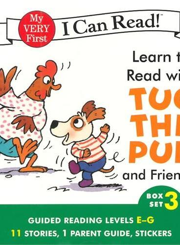Learn to Read with Tug the Pup and Friends!#3 (I Can Read My Very First Level)小狗和朋友们ISBN9780062266934