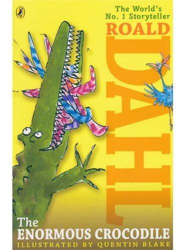 The Enormous Crocodile 巨大的鳄鱼(罗尔-德达尔小说,美国版)ISBN9780140365566