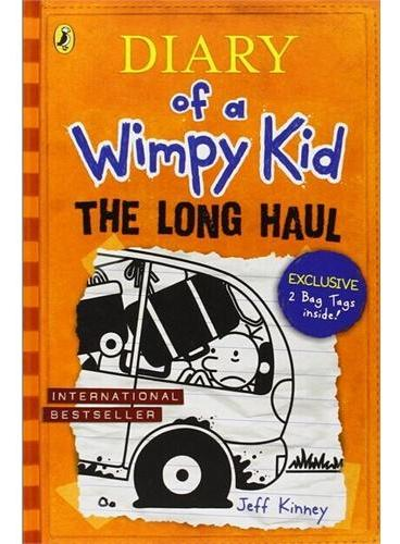 Diary of a Wimpy Kid #9: The Long Haul [Hardback] 小屁孩日记9:坏运气(英国版,精装) ISBN9780141357027