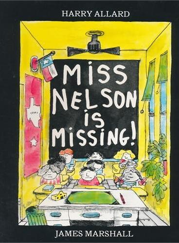 Miss Nelson Is Missing!尼尔森小姐失踪了!(亚马逊超级畅销绘本)ISBN9780395401460