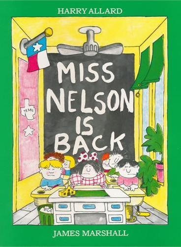 Miss Nelson Is Back 尼尔森小姐回来了ISBN9780395416686