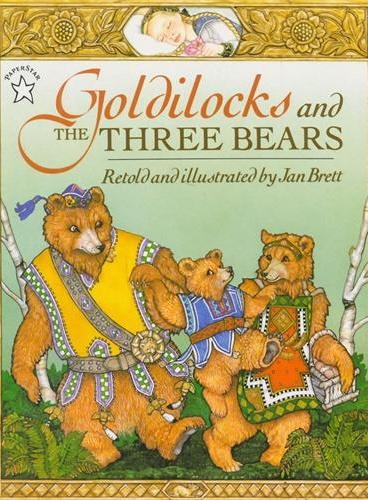 Goldilocks and the Three Bears金发女孩和三只熊(Jan Brett绘本)ISBN9780698113589