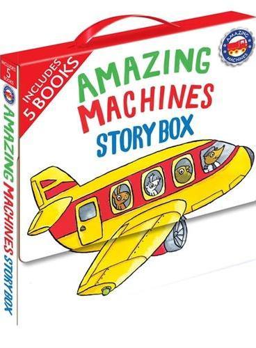 Amazing Machines Story Box神奇的机器(故事书)ISBN9780753472095
