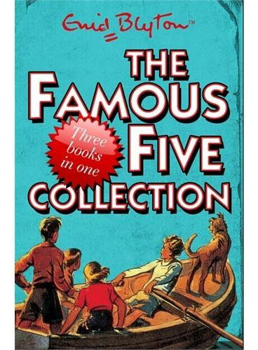 Famous Five Collection(3 books in 1)世界第一侦探团(第1-3册图书合辑)ISBN9781444910582
