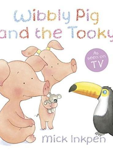 Wibbly Pig and the Tooky[Paperback]小猪威比和彩虹鸟ISBN9781444912241