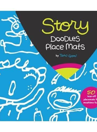 Story Doodles Place Mats五味太郎的餐盘:涂鸦故事 ISBN9781452107394