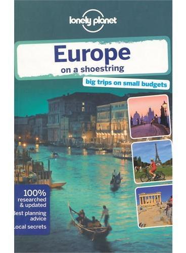 Europe 8 Lonely Planet 孤独星球 欧洲 最新版