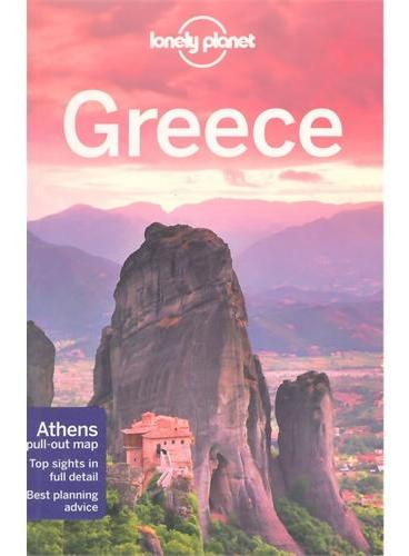 Greece 11 Lonely Planet 孤独星球 希腊 最新版