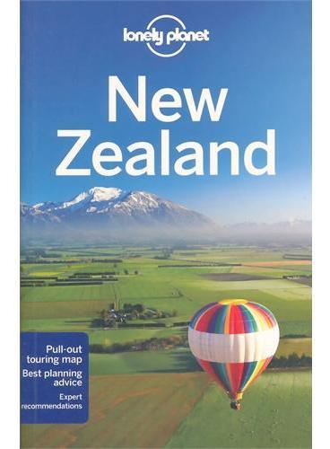 New Zealand 17 Lonely Planet 孤独星球 新西兰 纽西兰 最新版