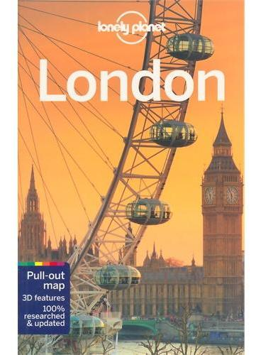 London 9 Lonely Planet 孤独星球 伦敦 最新版