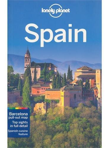 Spain 10 Lonely Planet 孤独星球 西班牙 最新版