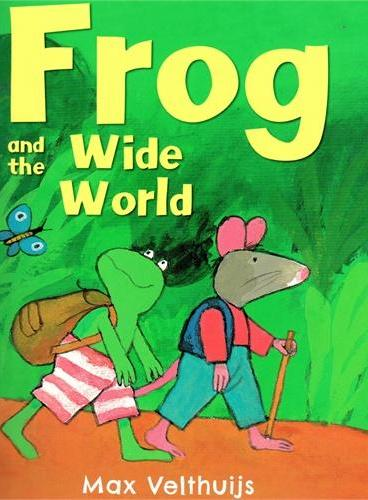 Frog and the Wide World《弗洛格去旅行》ISBN9781783441488