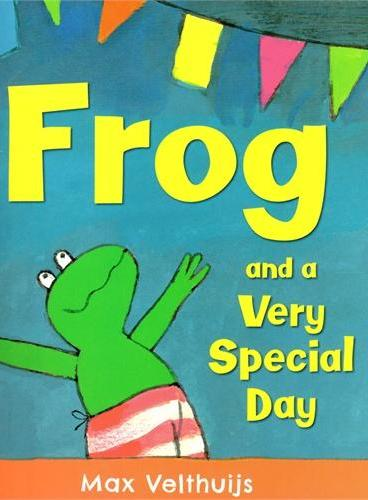 Frog and the very special day《特别的日子》ISBN9781783441495