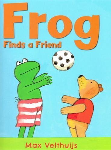 Frog finds a Friend《找到一个好朋友》ISBN9781783441501