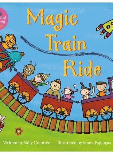 Magic Train Ride(A Barefoot Singalong)神奇的火车(书+CD)ISBN9781846866579