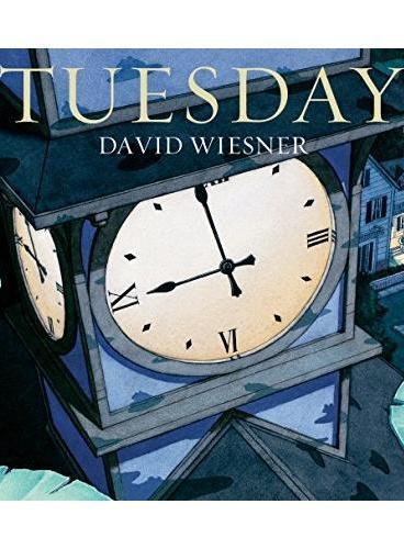 Tuesday 疯狂星期二(1992年凯迪克金奖)ISBN9781849394475