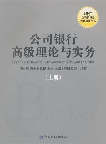 公司银行高级理论与实务(上册)