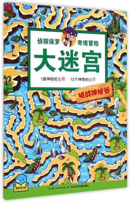 侦探保罗奇境冒险大迷宫:挑战神秘谷