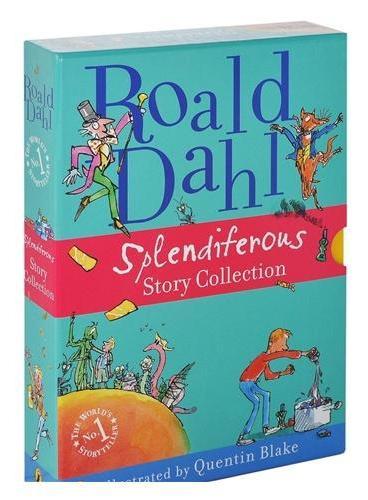 Roald Dahl Splendiferous Story Collection罗尔德-达尔 经典小说彩色插图版(礼品装,四本)ISBN9780141352619