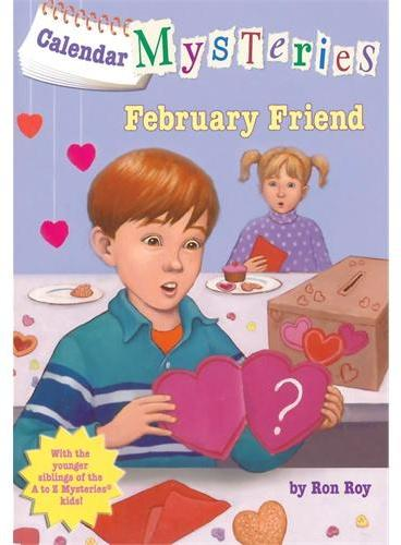 Calendar Mysteries #2: February Friend二月的朋友ISBN9780375856624