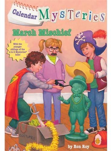 Calendar Mysteries #3: March Mischief悲伤的三月ISBN9780375856631