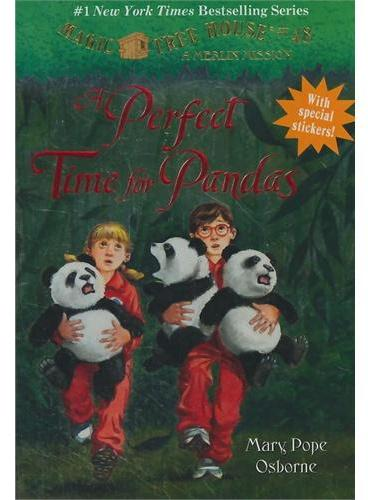 Magic Tree House #48: A Perfect Time for Pandas 神奇树屋48:熊猫的完美时光ISBN9780375867989