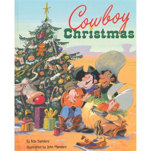 Cowboy Christmas [Hardcover]圣诞节的牛仔(金色童书)ISBN9780375869853