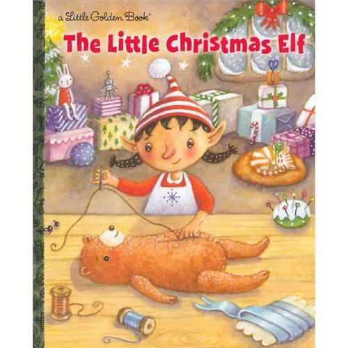 The Little Christmas Elf (Little Golden Book)圣诞小精灵(金色童书)ISBN9780375873485