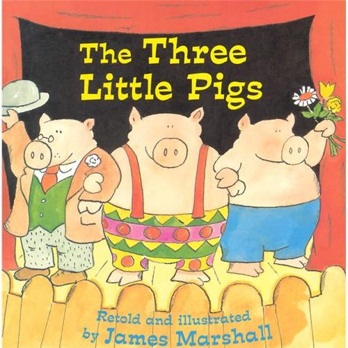 The Three Little Pigs三只小猪(James Marshall绘本)ISBN9780448422886