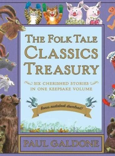Folk Tale Classics Treasury (by Paul Galdone, with download audio)经典童话故事6本书合集(含免费下载音频)ISBN9780544052475