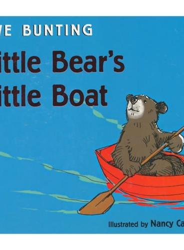 Little Bear's Little Boat [Board book]小狗熊的小小船[卡板书]ISBN9780547719030