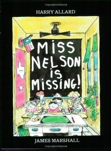 Miss Nelson Is Missing!(Book+CD)尼尔森小姐失踪了!(书+CD)ISBN9780618852819