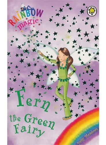 Rainbow Magic: The Rainbow Fairies 4: Fern the Green Fairy彩虹仙子#4绿色仙子ISBN9781843620198