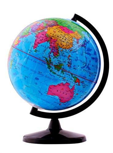 博目地球仪:20cm中文政区教辅地球仪112009