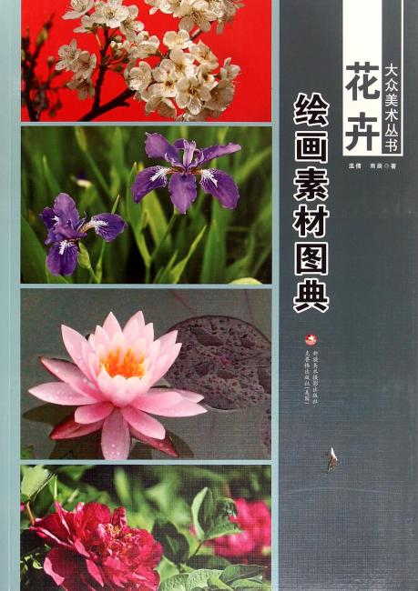 大众美术丛书—— 花卉绘画素材图典