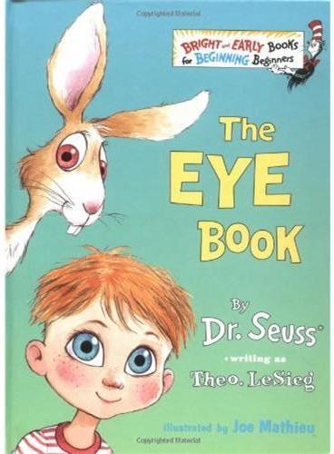 The Eye Book [Hardcover](Bright Beginner Books)眼睛书[精装]ISBN9780375800337