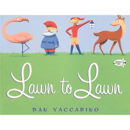 Lawn to Lawn(Dragonfly Books)从草地到草地ISBN9780375844713