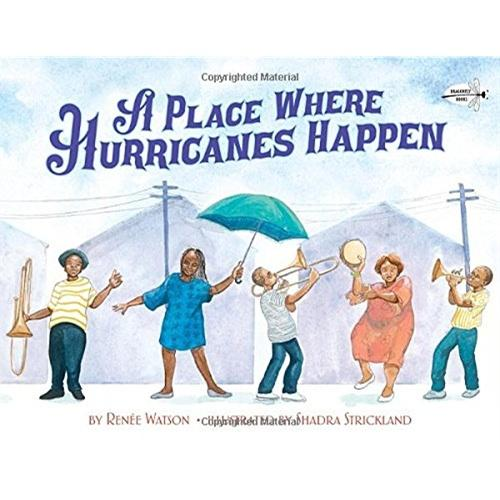 A Place Where Hurricanes Happen(Dragonfly Books)飓风刮过的地方ISBN9780385376686