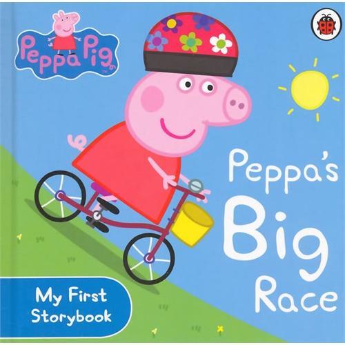 Peppa Pig:Peppa's Big Race [Boardbook]小猪佩奇卡板故事书:大比赛ISBN9780723288589