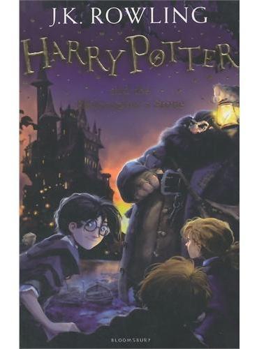 Harry Potter and the Philosopher's Stone 哈利波特与魔法石(英国版,平装)ISBN9781408810545