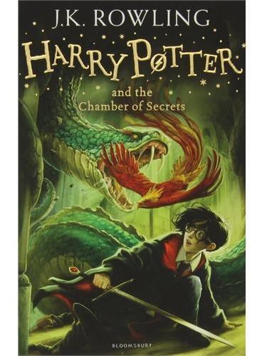 Harry Potter and the Chamber of Secrets 哈利波特与密室(英国版,平装)ISBN9781408810552