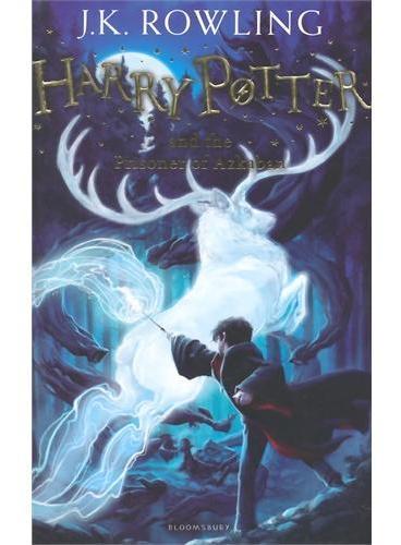 Harry Potter and the Prisoner of Azkaban 哈利波特与阿兹卡班囚徒(英国版,平装)ISBN9781408855676