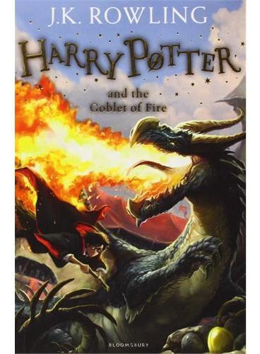 Harry Potter and the Goblet of Fire哈利波特与火焰杯(英国版,平装)ISBN9781408855683