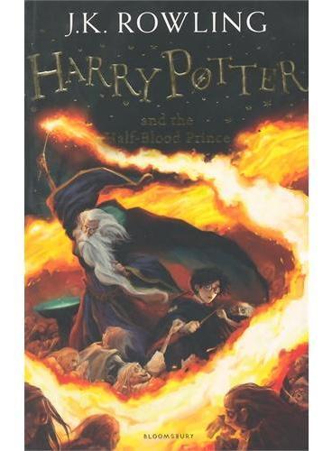 Harry Potter and the Half-Blood Prince哈利波特与混血王子(英国版,平装)ISBN9781408855706